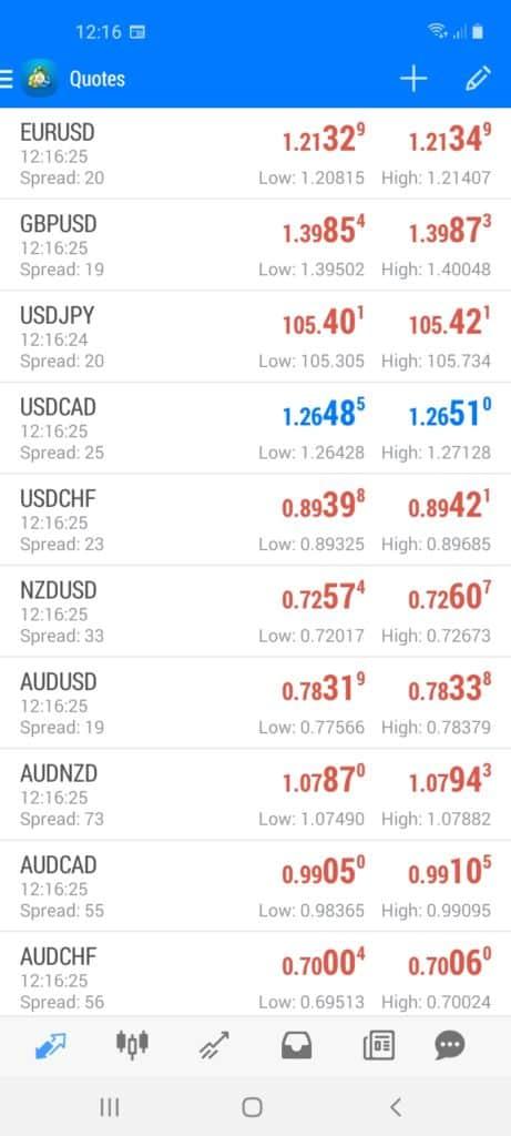 BlackBull Markets Trading App